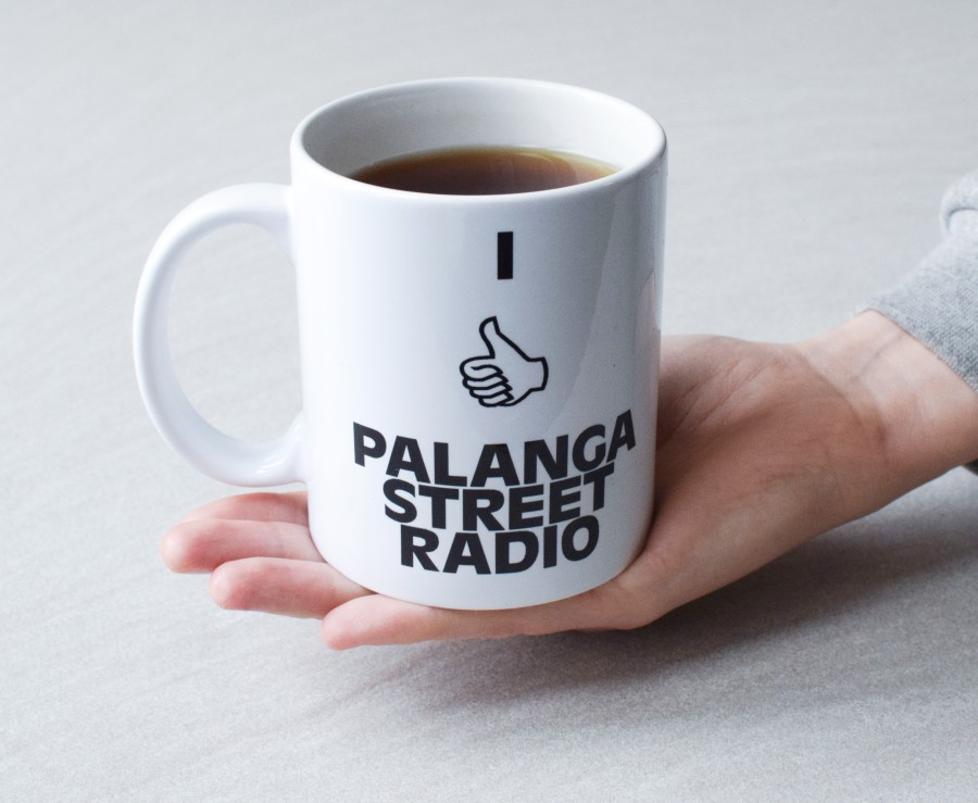100% Official PSR Coffee Cup