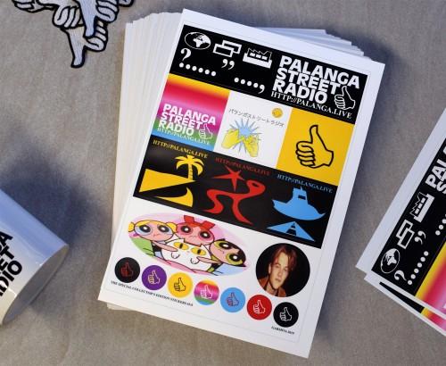 PSR Sticker Sheet, 3rd edition